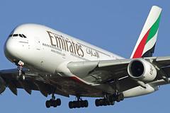 Emirates Airbus A380 A6-EDG (Dave707) Tags: london heathrow uae emirates airbus a380 ek lhr airbusa380 egll superjumbo a380800 a388 airteamimages a6edg