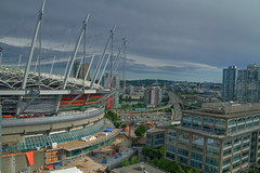BC place under construction (Eyesplash - Summer was a blast, for 6 million view) Tags: urban architecture buildings football construction bars iron downtown stadium soccer events core retractable cambiest bcplace domw accordingtogoogletranslateitsirish
