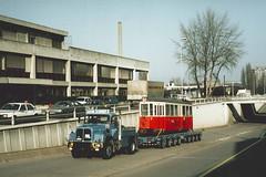 1994, Carouge, Avenue Vibert (Fototak) Tags: tram 700 genève tramway tpg strassenbahn 727 normalisée