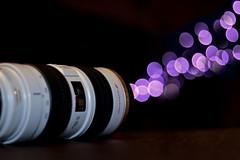 Telephoto Bokeh Gun (TrevorLarson17) Tags: field canon lens concentration purple bokeh perspective telephoto shallow forced miranda depth cosgrove 70200m