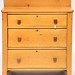89. Antique Three Drawer Chest