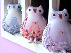 Corujas APCavalari (AP.CAVALARI / ANA PAULA) Tags: owl coruja ateli arteemtecido anapaulacavalari owlflia apcvalari