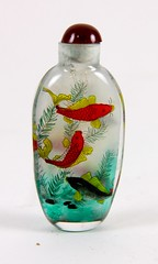 7. Snuff Bottle with Koi Fish