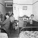 Typical men's dorm room in 1945-46