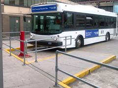 Newark Airport - Bus Terminal Railing