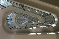 Science Fiction or stairs? (michael_hamburg69) Tags: glass stairs germany deutschland hotel stair hamburg steps stairway treppe architect step staircase glas hansestadt treppenhaus architekten wendeltreppe steigenberger gerkanmargpartner 199092