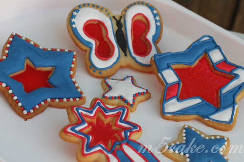 Independence Day cookies - 1