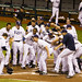Rays celebrate Evan Longoria's walk-off home run