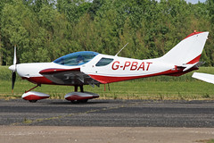 G-PBAT (QSY on-route) Tags: club aero lincon sturgate egcs 04062011 gpbat