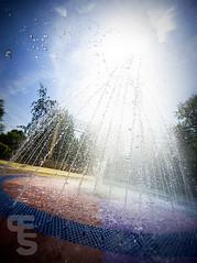 _MDW3973 (Eye of the Shutter Photography) Tags: eye water fountain gardens botanical photography droplets nikon williams matthew norfolk shutter f28 splashing 1424 d700