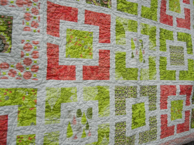 Alex's quilt - close-up #2