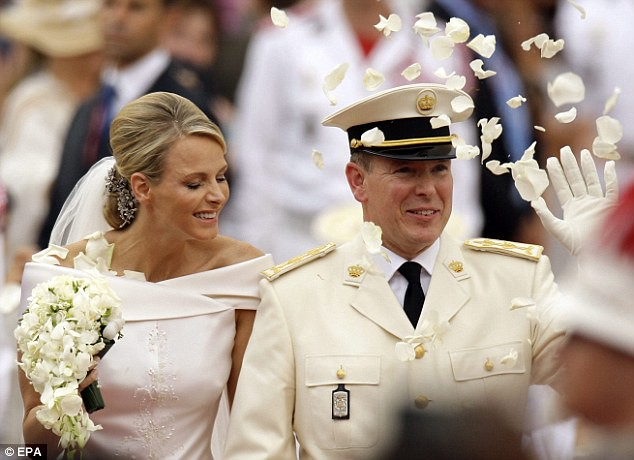 The Princess bride  Monaco  Charlene and Prince Albert ceremony The Princess bride  Monaco  Charlene and Prince Albert ceremony  15