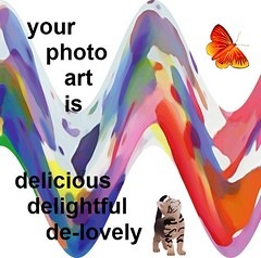 YOUR PHOTO/ART  DELIGHTS ME