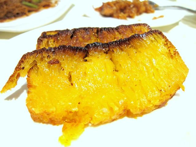 Pan Fried Pumpkin Cake
