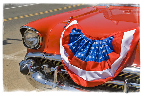 Americana Red by Damian Gadal
