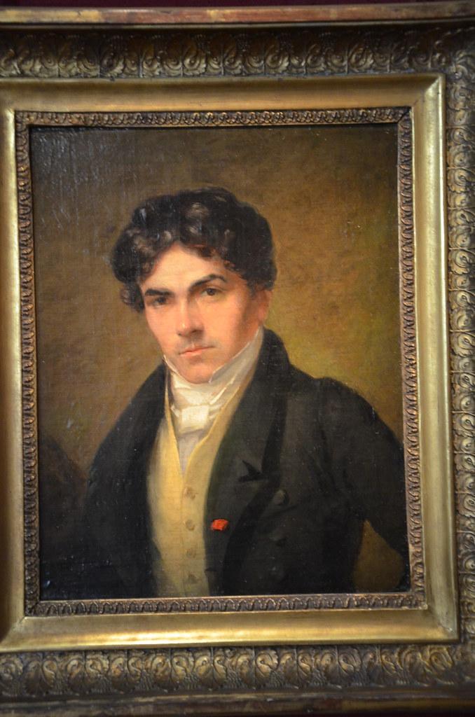 Portrait D'Eugène Delacroix - Thalès Fielding