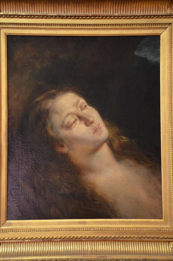 Madeleine au désert - Delacroix