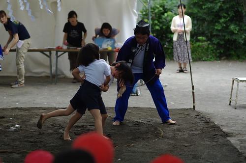 幼稚園相撲大会