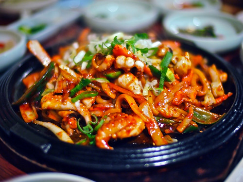 Stir Fried Baby Octopus by Chun