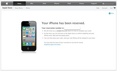iPhone 4s preordered by pkshiu