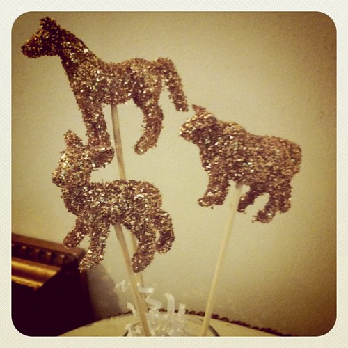Glittered Party Animals