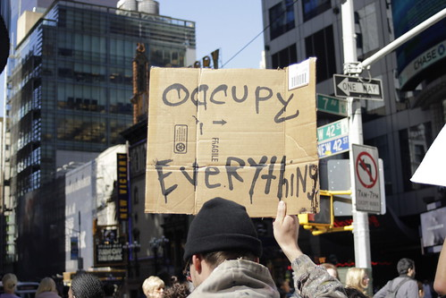 Occupy Everything! (Photo: Timothy Krause, flickr)