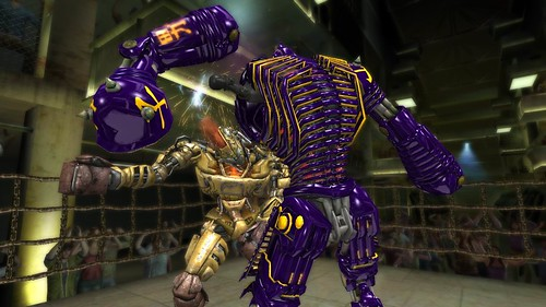 Real Steel (XBLA, PSN) from Yuke's