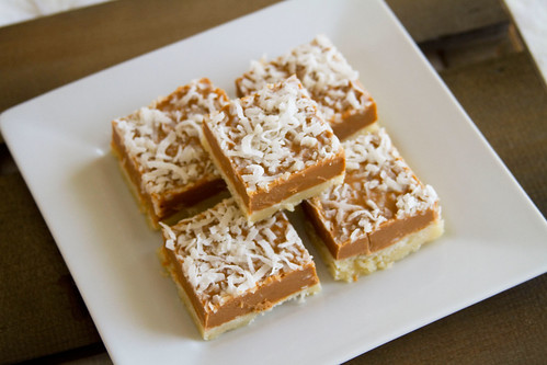 Butterscotch, SunButter, and Coconut Bars - 6