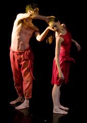 Liaison (*FabPhoto) Tags: chile santiago red ballet dance movement rojo danza dancer move movimiento tanz figure nacional chileno alcalde figura beatroz
