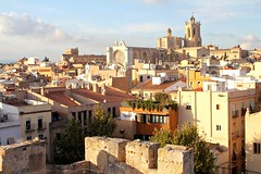 Tarragona Green (SRApix) Tags: green tower rooftop stone architecture spain scenery cathedral roman air catalonia agriculture catalan tarragona cleanair srapix tarragonagreen