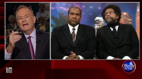 Video Bill O'Reilly vs. Tavis Smiley & Cornell West