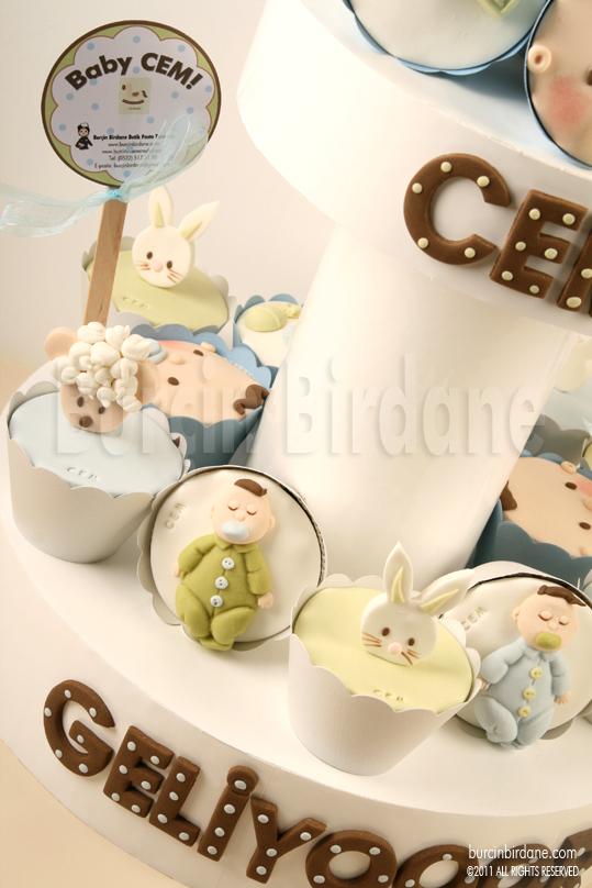 Baby Shower Cupcake Standi 3