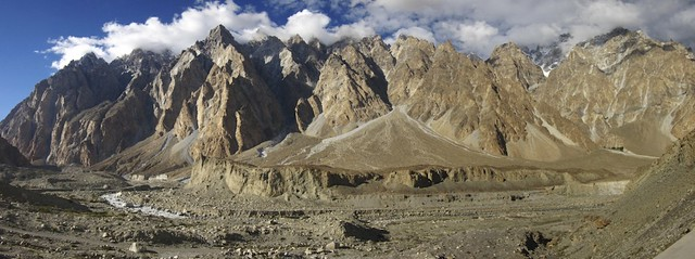 Just north of Passu.