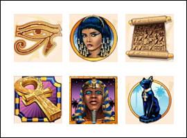 free Ramesses Riches slot game symbols