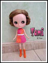 Tami y su nuevo peinado