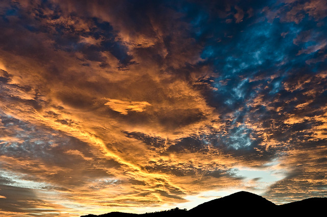nubes de octubre