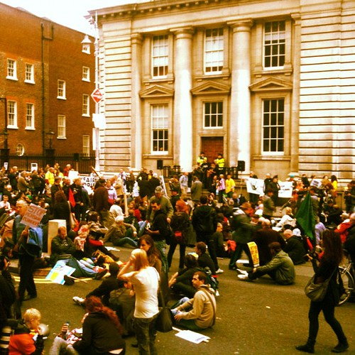 #15o #oct15 #15october #15m #15oct #globalrevolution #democracy #protest #dublin by Gribers