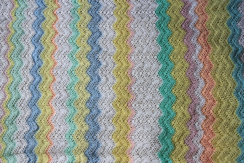 Lion Brand's Baby Ripple Afghan