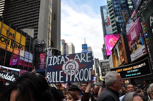 Ideas are bulletproof.