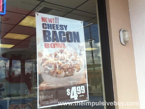 KFC Cheesy Bacon Bowl Sign