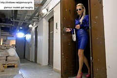 Glamour office girl (glamourmodels) Tags: ladies girls sex glamour models clothed clothes satin fully