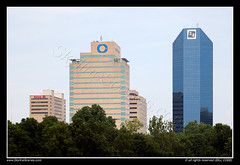 Skyline of Lexington, Kentucky (SkylineScenes (Bill Cobb)) Tags: city urban skyline downtown cityscape lexington kentucky hilton centralbank skylinescenes fifththirdbankcenter finnancialcenter
