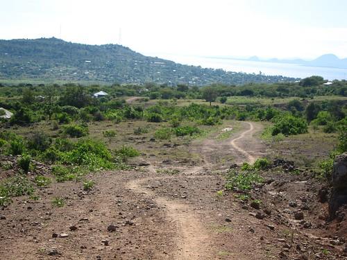 walking to mbita kenya