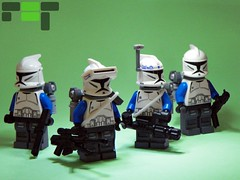Echo Company - Aerial Assault Gear (Brickcentral) Tags: trooper hearts star bravo lego echo 11 queen company corps mission 111 wars division squad custom clone airborne legion taris 26th purist 457th
