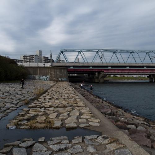 Mihama Bridge, Edogawa-ku Side