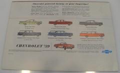 015-4 (Monaco Luxury) Tags: color chevrolet air nomad collectible impala bel rare 1959 pos brochureflyer