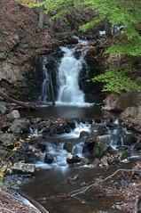 Little falls above Roaring Brook Falls (SpartacuSparta) Tags: autumn cheshire connecticut waterfalls spartaspartacusphotosflickrcom