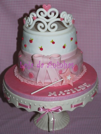 Princess Party Cake by Aninhas_lisboa