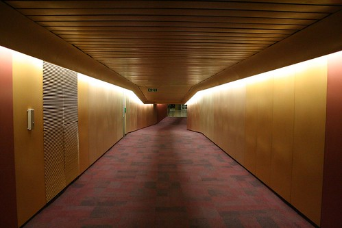 An unused corridor