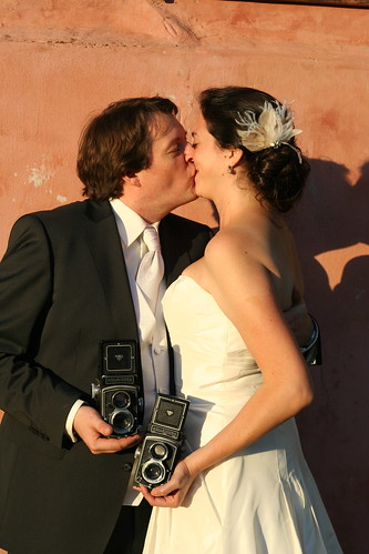 wedding - the smootch!